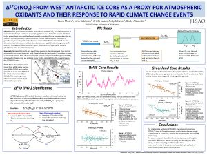 Laura's research poster